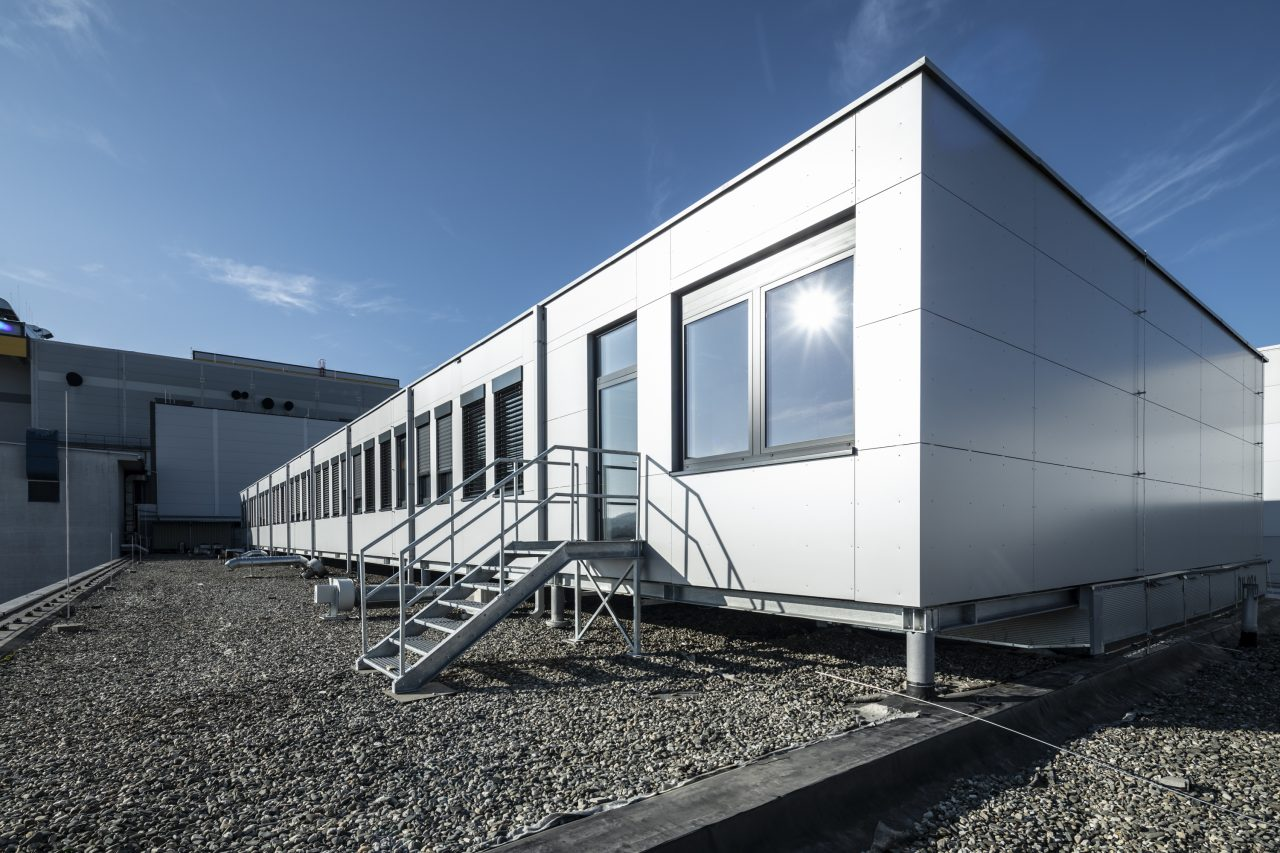 Modular office on the roof Barum Continental Otrokovice CZ 2
