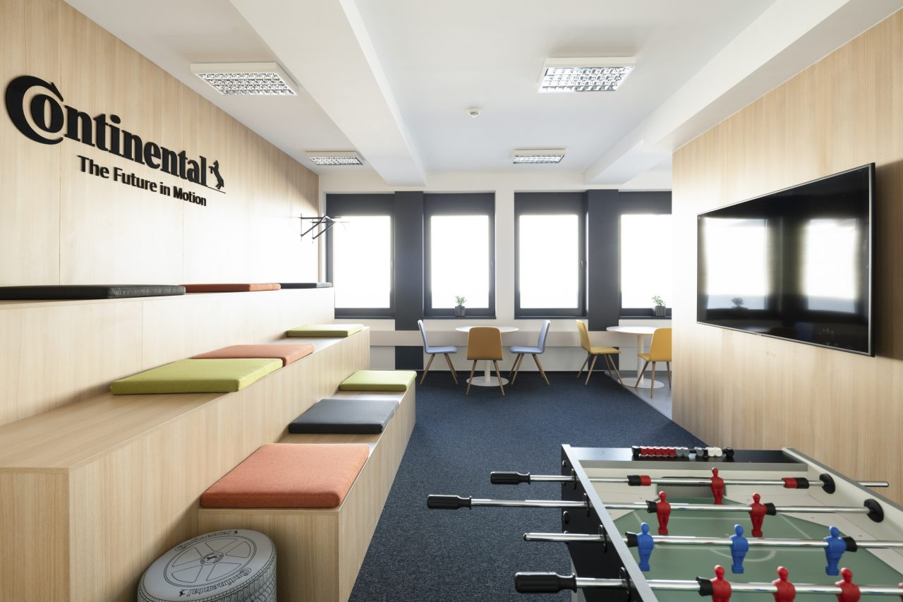 Modular office on the roof Barum Continental Otrokovice CZ 7